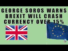 Soros Warns BREXIT Would Cause British Pound to CRASH!