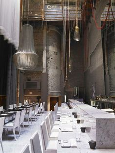 Modern Restaurant Interior and Exterior Design Ideas Restaurant Design, Architecture Restaurant, Cool Restaurant, Luxury Restaurant, Restaurant Concept, Oriental Restaurant, Industrial Restaurant, Restaurant Lighting, Commercial Interior Design