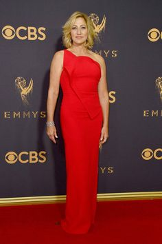 Emmy Awards 2017 Trend Watch: Ladies in Red