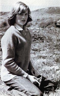 Diana Spencer before she became a Princess.