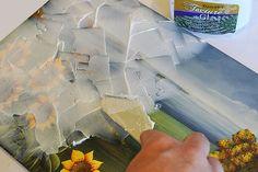 Diffuzart |Obtenir de la texture avec le produit texture glass