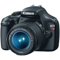 Canon EOS Rebel T3 12.2 MP CMOS Digital SLR with 18-55mm IS II Lens and EOS HD Movie Mode (Black): http://www.amazon.com/Canon-Rebel-T3-Digital-18-55mm/dp/B004J3Y9U6/?tag=vietrafun-20