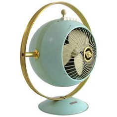 Industrial Space Design Ventilator #Fan, Germany, 1950-1955