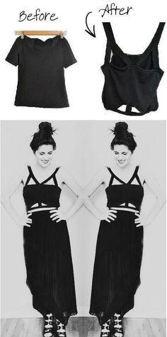 20 Lovely DIY Fashion Ideas - Cut Out Bandaeu FOLLOW ME ON TWITTER https://twitter.com/ReynaAsencio