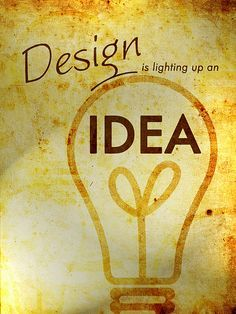 "This picture shows the text ""idea"" written in a bulb.The bulb gives light which  gives an idea to those person while designing."