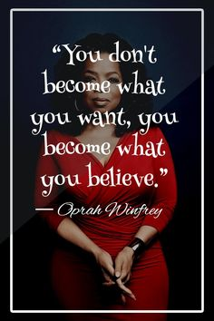 Queen Oprah Winfrey on her collection on motivational quotes, life quotes, love quotes, success quotes and other inpiring quotes. Written on her Oprah Winfrey books and speeches. Oprah Quotes, Quotable Quotes, Wisdom Quotes, Quotes To Live By, Me Quotes, Motivational Quotes, Inspirational Quotes, Change Quotes, Sunday Quotes