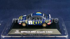 CM S RALLY CAR COLLECTION | SS4 | SUBARU IMPREZA WRX ACROPOLIS | SAINZ | 1/64