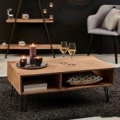 Une table basse pas chère avec rangement, Casa