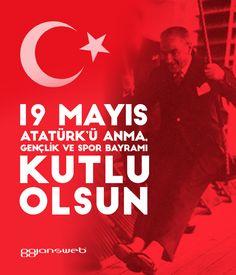 #19Mayıs Atatürk'ü Anma ve Gençlik ve Spor Bayramı tüm ülkemize KUTLU OLSUN!