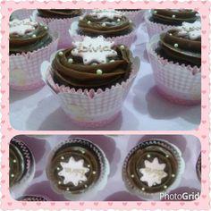 Cupcakes para o chá da Lívia❤ Tentação Atelier de Gostosuras