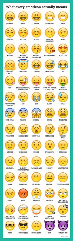 Emoticons are pretty...