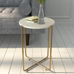 Uncover on-trend side tables designed to complement your space. Browse the full collection at Furniture123. #sidetable #marblesidetable #goldsidetable #whitesidetable #livingroomdecor #livingroom #homestyle #homedecor #smalllivingroom #smallhome White Side Tables, Metal Side Table, Small Living Rooms, Living Room Decor, Bedroom Decor, White Sideboard, Round Coffee Table, Large Furniture, Gold