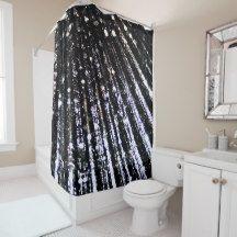 Shop Black Elegant Mermaid Seashell Shower Curtain created by fairychamber. Light Blue Shower Curtain, Seashell Shower Curtain, Pink Shower Curtains, Custom Shower Curtains, Home Decor Sets, Create Your Own Invitations, Sea Shells, Elegant, Mermaid
