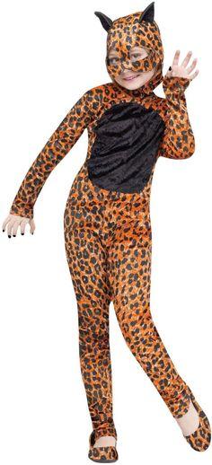 Cheetah Girl Kids Costume