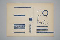 Drukhuis Herengracht 229. Amsterdam, Drukhuis, c. 1973, p. 'Lijnen van het drukhuis'. MM: pp ned Drukhuis z.j.004. (MM) #typeasimage