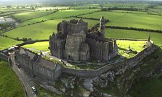 The Rock of Cashel was originally used as a fortification by an Irish dynasty called the Eoganacht. There is now a cathedral on the land, built by the Christian Church.