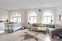 Open woonkamer indeling | Interieur inrichting