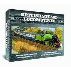 British Steam Locomotives 4 DVD GIFT SET http://www.play.com/DVD/DVD/4-/29742763/-/Product.html