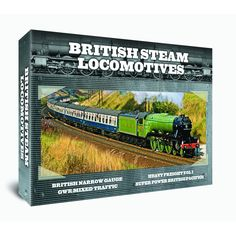 British Steam Locomotives 4 DVD GIFT SET http://www.play.com/DVD/DVD/4-/29742763/-/Product.html