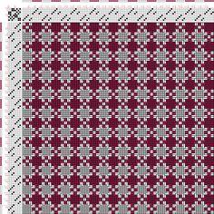 draft image: Figurierte Muster Pl. XXIX Nr. 1 (a), Die färbige Gewebemusterung, Franz Donat, 8S, 8T