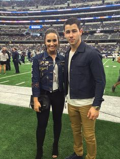 Demi and Nick, September 2016.
