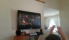 Amazon.com: Sunydeal Mounts Flush Tilt Dual Hook Flat Screen TV Wall Mount Bracket for 30-60 inch Plasma, LED, and LCD TVs Up To VESA 600x400mm: Electronics