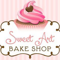 Imagen relacionada Cupcake Logo, Car Wrap, Sweet, Cup Cakes, Candy