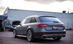 Gray Audi Allroad - AvantAngle