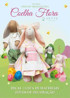 São detalhes encantadores que vão surpreender a todos! Basta você assistir a aula, baixar os moldes e fazer a sua família de coelhos para presentear na páscoa!