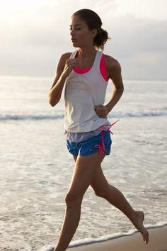 Morning runs on the beach