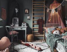 Barnens rum i Family living Girl Room, Girls Bedroom, Bedroom Decor, Fantasy Bedroom, Cozy Bed, Deco Design, My New Room, Room Inspiration, Decoration