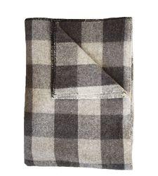 Wool Blanket - Checkerboard - Brook Farm General Store
