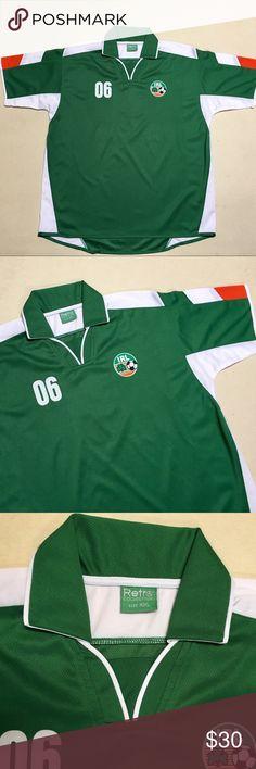 94c9fd692 Ireland National Soccer Team - Retro Men s Jersey Republic of Ireland  National Football League Classic Soccer