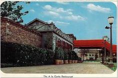 A la Carte Steak House - Westbury Square 1960's