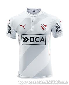 Tercera camiseta de Independiente 2016 Soccer Uniforms, Soccer Shirts, Soccer Jerseys, Football Pitch, Football Soccer, Captain Tsubasa, Custom T Shirt Printing, Great T Shirts, Sport Man