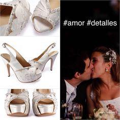 Ellos son Marian y Pablo! Una pareja hiper enamorada con una historia de amor de película ❤️❤️❤️. Gracias por haber confiado en @desnudashoes para acompañarlos en ese día tan especial. www.desnuda.it/marian  #desnudashoes #love #wedding #dream #amor #felicidad #amoreterno