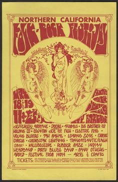 Norther California Folk Rock Festival. Yes I was there!