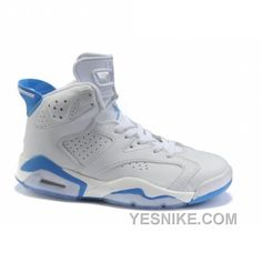 http://www.yesnike.com/big-discount-66-off-air-jordan-retro-6-gs-white-blue.html BIG DISCOUNT! 66% OFF! AIR JORDAN RETRO 6 (GS) WHITE BLUE Only $78.00 , Free Shipping!