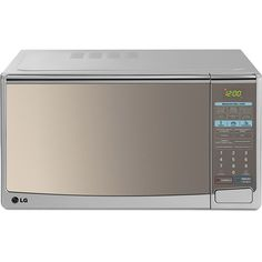 Forno de Micro-ondas LG Mirror Silver Grill MH-7049CA – 30 Litros, por R$314,10