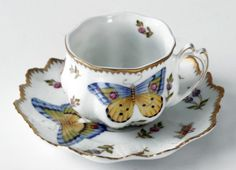 Spring in Budapest Spring in Budapest Ruffled Cup and Saucer from Anna Weatherley in Spartanburg, SC from William Stafford Jewelers