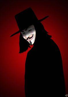 V For Vendetta, Worlds Largest, Batman, Darth Vader, Deviantart, Superhero, Artist, Portraits, Fictional Characters