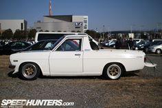 Datsun sunny truck on SSR starshark wheels