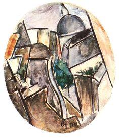 DÉNES Valéria: Street, 1913