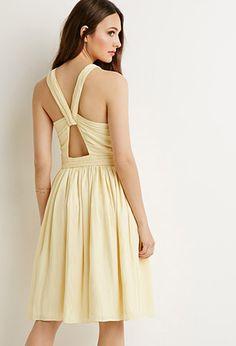 Crisscross Cutout Dress | Forever 21 - 2000077936