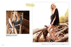 Well Hello BoHo! Glamour UK spread shot by Coliena Rentmeester. Capture by Versatile Studios.