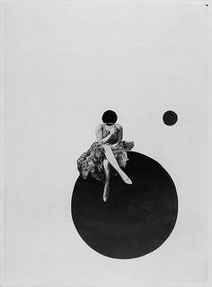 László Moholy-Nagy Die Olly- und Dolly-Schwestern ca. 1925 Silbergelatineabzug einer Fotomontage