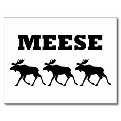 Three Meese Funny Postcards
