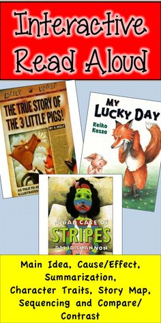 Use these print and go #ELA activities with these three picture books in your classroom! #readaloud $4
