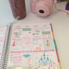 This is my lovely erin condren planner, i highly recommend it! They're releasing their new planner on the 9th!Use my link and you'll receive $10 off your first purchase!