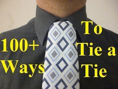 How to Tie a Tie Onassis Knot - YouTube